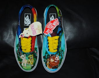 1ec8ca925e Customised hand painted shoes disney lion king design your own vans jpg  340x270 Lion king vans