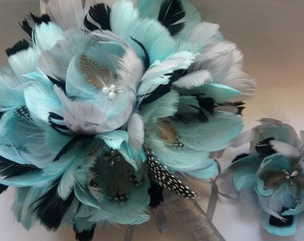 Turquoise bouquet | Etsy