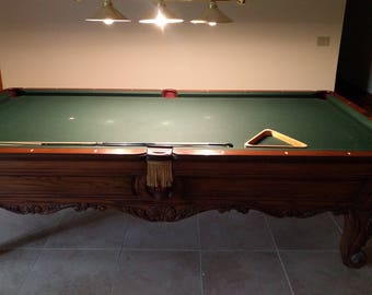 Charles A. Porter Renaissance Pool Table - Lowest Price on Internet