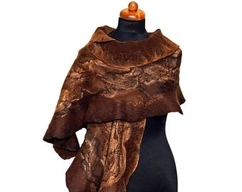 Abstract-pattern scarves