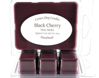 Black Cherry Wax Melts. Scented Wax Melts. 6 Cube Pack. Black Cherry Scented. Wickless Candle Wax