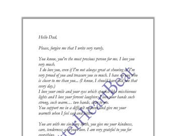 Thank you Poem Original gift Love letter Hello Love Message