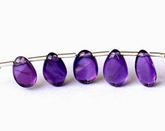 Stunning 5 Amethyst beads