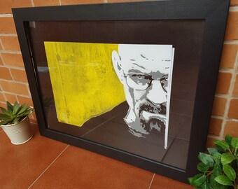 Box poster Breaking Bad Walter White Heisenberg