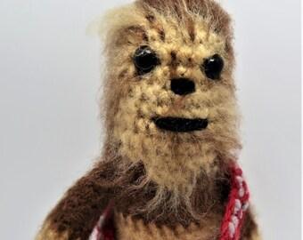 Chewbacca Star Wars Amigurumi Plush Figure