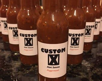 Custom X Hot Sauce
