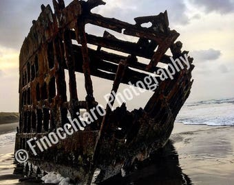 Shipwreck at Fort Stevens