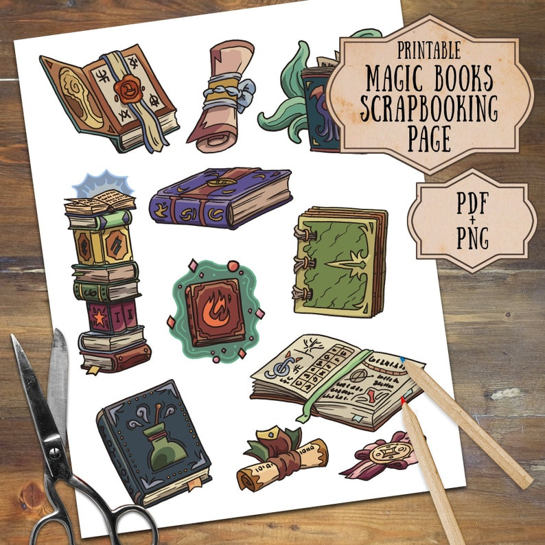 photo regarding Printable Scrolls named Magic Publications and Scrolls Printable Clipart, Electronic Clipart Wizards and Witches, Clipart Down load Magical Textbooks, Scrolls, Spell, Sorcery