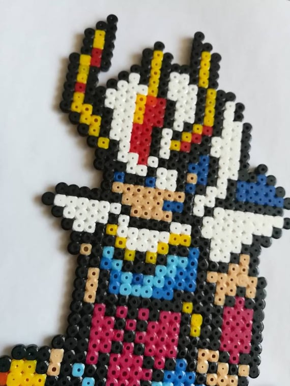 Ikki Chevalier Du Phoenix Chevaliers Du Zodiaque Pixel Art Geek Art