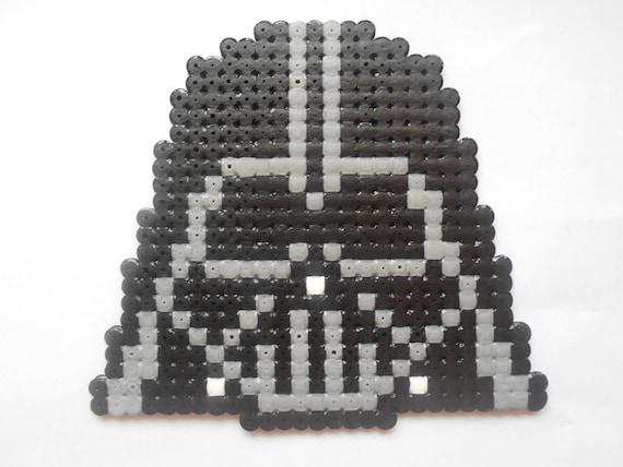 Star Wars Tête De Dark Vador Décoration En Perles à Repasser Etsy