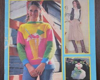 STITCH BY STITCH - Knitting, Sewing and Crochet Pattern Magazine - Part 6 - 1980s/1990s