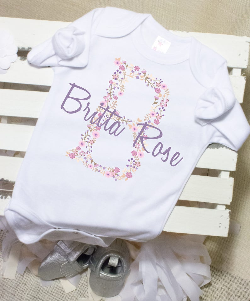8faab7bc7 Personalized Baby Gift Name Onesie® Baby Shower Gifts