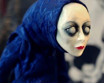 Creepy art doll Stillgeist mystic spirit horror doll
