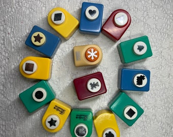 Paper Punch YOUR CHOICE Assorted Paper Punches Gently Used