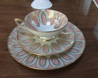 Winterling Bavaria Tea Cup, Saucer, Plate Vintage