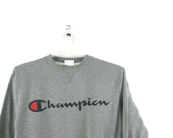 d1a6bf5acf5 Champion Script Logo Vintage Sweatshirt   Vintage Champion   Champion  Sweatshirt   Champion Hoodie   Gucci Champion   Aesthetic Clothing