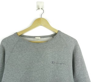 87fe4df54c3 Gray Champion Sweatshirt Jumper   Champion Vintage   Champion Sweater   Champion  Hoodie   Gucci Champion   Vintage Streetwear