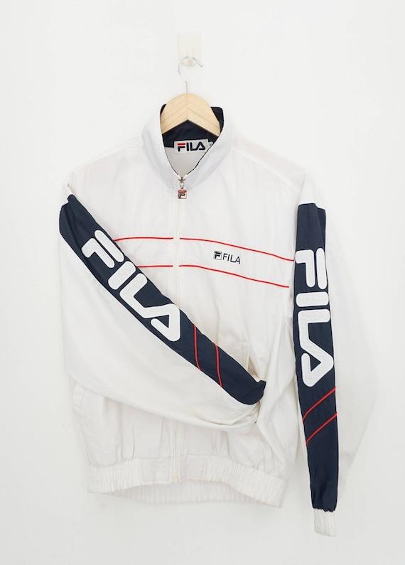 Fila Windbreaker  / Vintage Bomber Jacket / 90s Wi