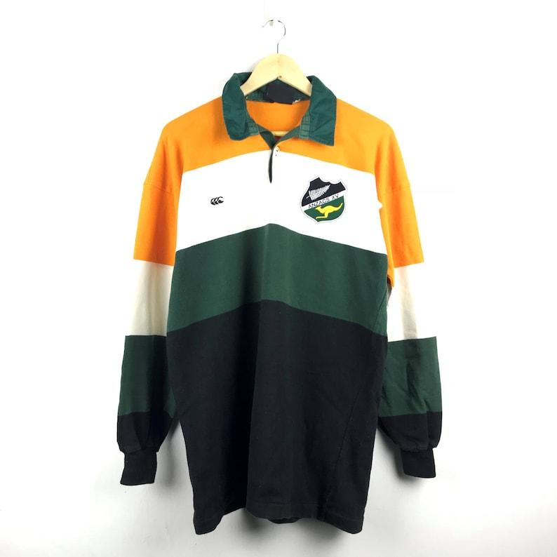 Vintage Anzacs XV Canterbury Rugby Polo 1989 Very Rare | Etsy