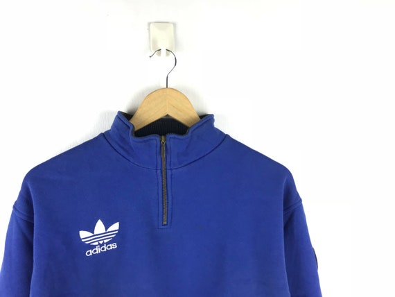 Blue Adidas Sweatshirt Pullover Jumper / Adidas Vi