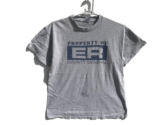 Vintage ER TV Series Movie Shirt / Vintage Shirt /