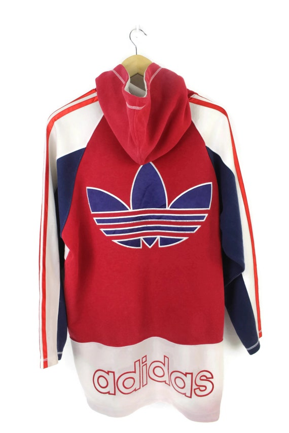 Adidas Vintage Hip Hop Multicolor Sweatshirt Pullo