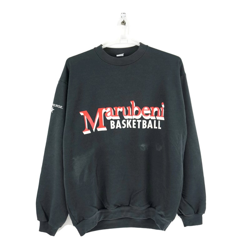 04f259b0b3131 Vintage Converse All Star Marubeni Traders Japan / Vintage Sweatshirt /  Converse Vintage / 90s Hip Hop Clothing / Aesthetic Clothing