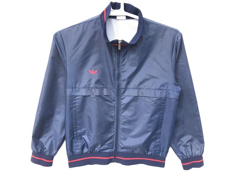 8c67ba3c30fdd 90s Adidas WIndbreaker / Aesthetic Clothing / Vintage Windbreaker / Light  Jackets / Vintage Adidas