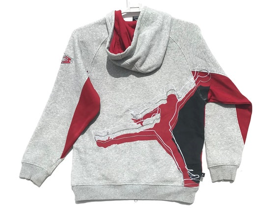 Nike Air Jordan Jumpman Grey Tag Hoodie