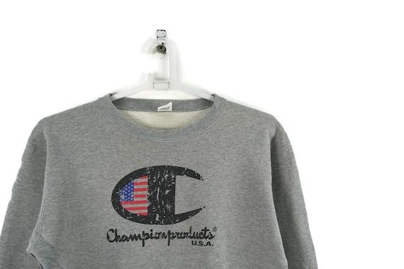 Grey Champion Script Vintage Sweatshirt  / Vintage