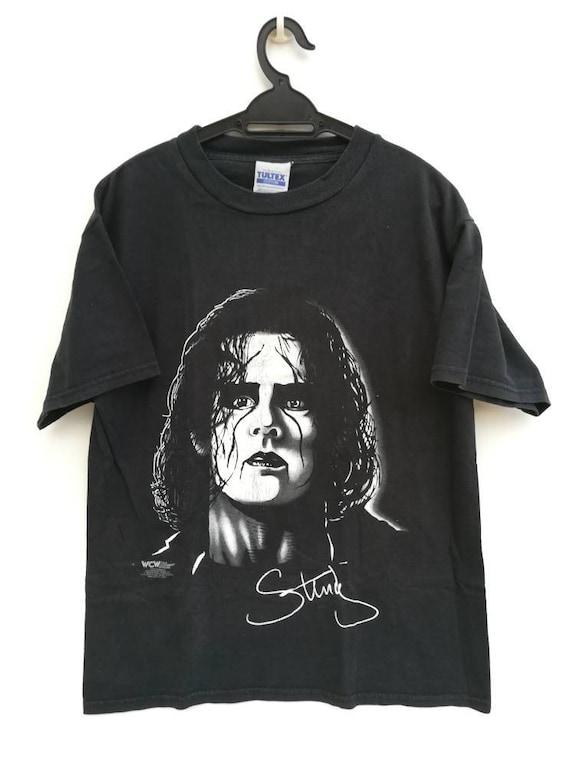 Vintage 1998 Sting WCW Wrestling T Shirt Size L