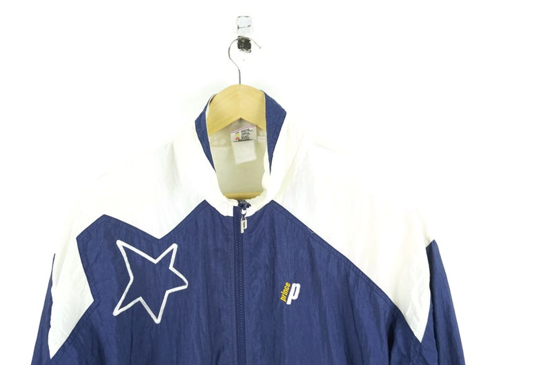 6dcd655a2dbb8 90s Prince Windbreaker / Vintage Windbreaker / Vintage Jacket / Vintage  Tennis / 90s Hip Hop Clothing / The Fresh Prince