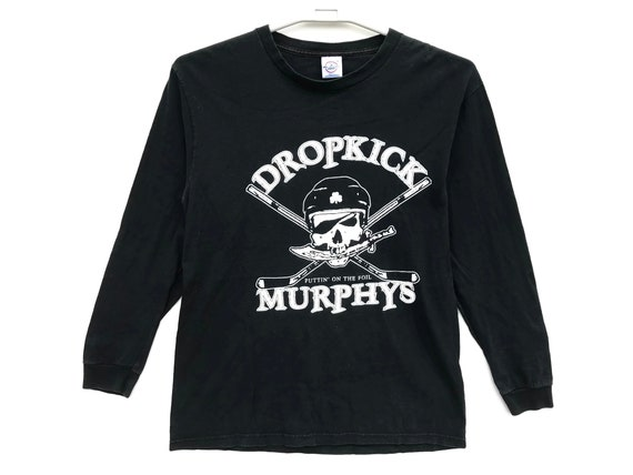Vintage Dropkick Murphys Album Tour T Shirt / Vint