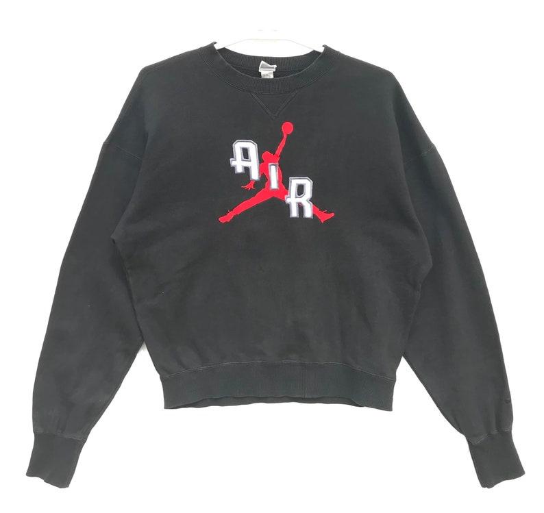 8cff17aba9ed Vintage Nike Air Jordan Jumpman Grey Tag Sweatshirt   Vintage