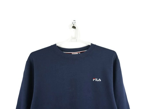 Fila Vintage Sweatshirt Navy Blue / Vintage Sweats