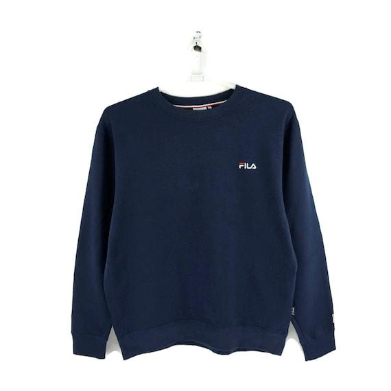 Fila Vintage Sweatshirt Navy Blue / Vintage Sweat… - image 2