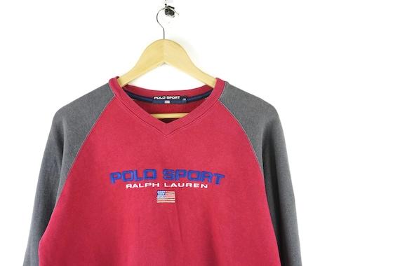 Polo Sport Bear Sweatshirt Clothing Ralph Lauren Vintage WDEHe2IY9