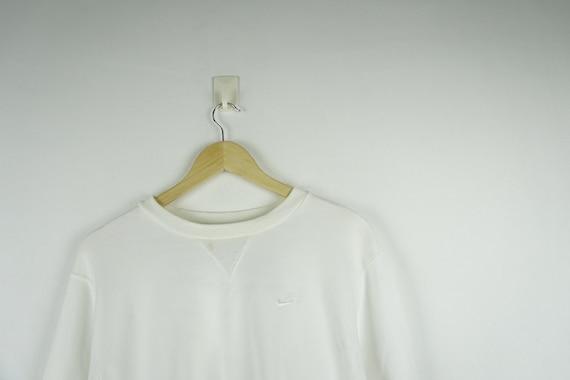 Nike Vintage White Sweatshirt Crewneck Jumper / Ni