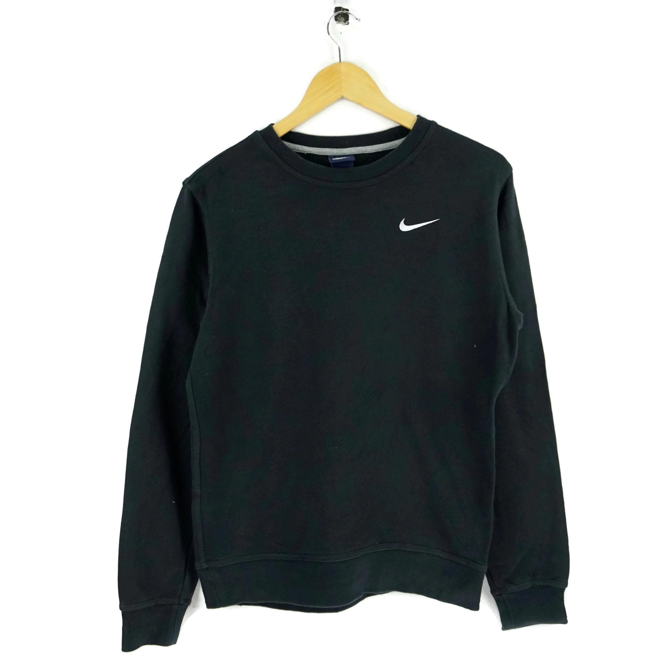 4d650d4ac72 Vintage Nike Sweatshirt Black   Nike Vintage   Grey Sweatshirt