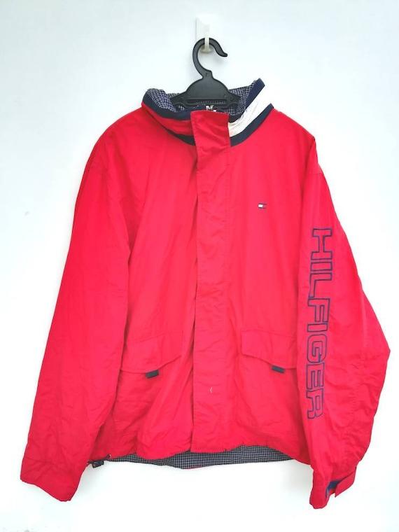Vintage TOMMY HILFIGER Windbreaker Jacket Spellout