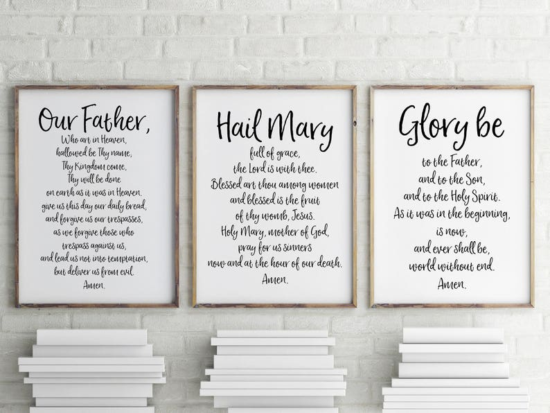 This is a picture of Amazing Printable Catholic Prayers