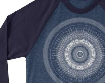 Lucky Fuck: 3/4 sleeve raglan shirt
