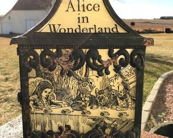 Alice in Wonderland Lantern