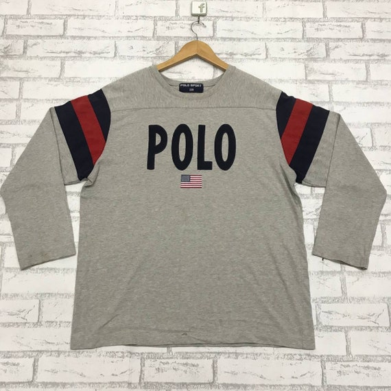 Polo Sport Spell Out Nice Design Sweatshirt