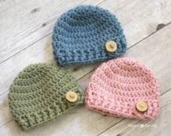 Baby Crochet Hat Etsy