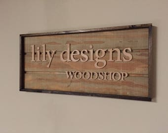Custom Personalized Signs for Home or Business