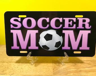 Soccer Mom License Plate