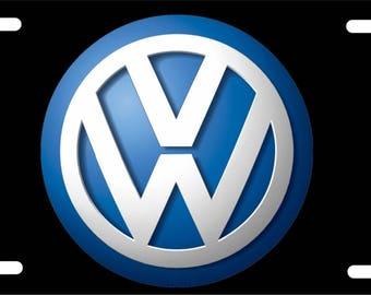 VW / VOLKSWAGON License Plate