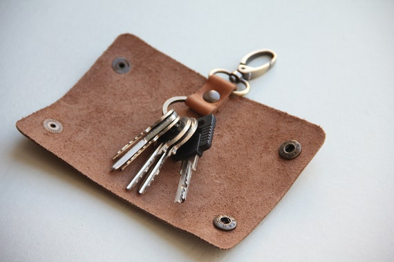Book and Key Purse Hanger with Keychain