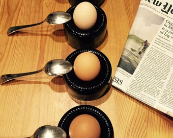 Eggcup recycled champagne bottle (X 4)